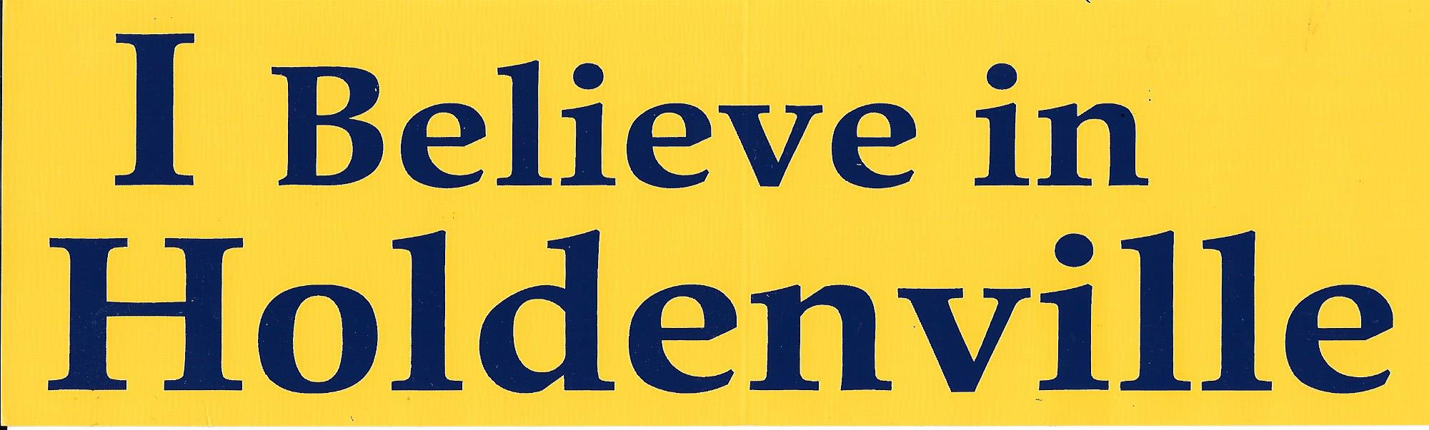 I believe in Holdenville